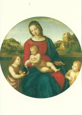 Madonna Terranuova, Rafael