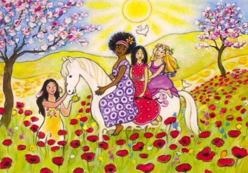 Zusters in de lente, Geertje van der Zijpp