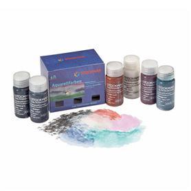 Aquarelverf 20ml aanvullende kleuren (6 kleuren in doosje)