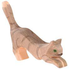 Kat springend