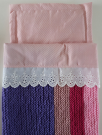 Set met laken, deken en kussen