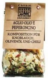 Preparato per aglio, olio e peperoncino, Casale Paradiso, 100 gr