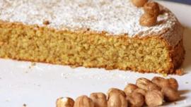 Torta di Nocciole,  van Piemontese hazelnoten, circa 350 gr