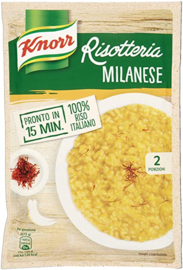 Risotto Milanese, Knorr