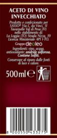 Aceto di vino Rosso, Rode wijnazijn, Sasso, 500 ml