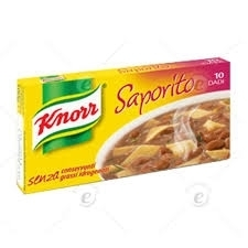 Bouillon blokjes, Dadi Saporito, Knorr