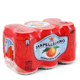 Aranciata Rosso, San Pellegrino, 6 x 33 cl