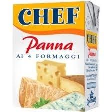 Panna ai 4 formaggi, Parmalat, 125  ml