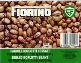 Borlotti bonen, Fiorino, blik 400 gr