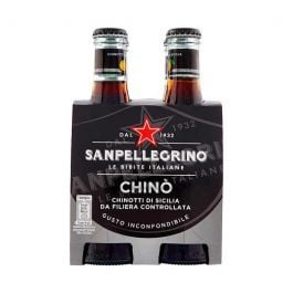 Chinotto, San Pellegrino, 4 x 200 ml flesjes