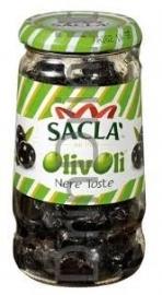 Olijven zwart, Olive Nere Toste, Sacla. 200 gr