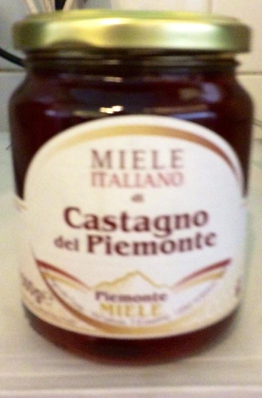 Miele Castagno, kastanjehoning, Piemonte,  500 gr