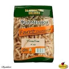 Trivelline di Farro Biologico, Biologische speltpasta, 500 gr