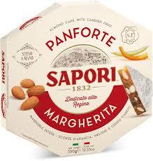Panforte Margherita, Sapori,  340 gr