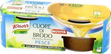 Visbouillion, Cuore di Brodo Pesce, Knorr