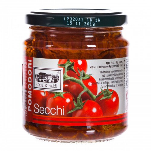 Pomodori Secchi, zongedroogde tomaatjes, 270 gr