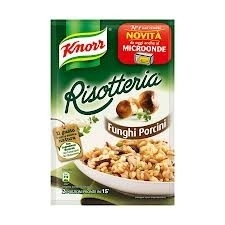 Risotto con Funghi, Knorr