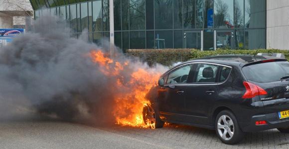 auto-brandblusapparaten