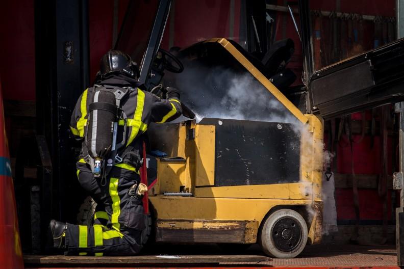brandblusapparaat-heftruck