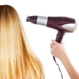 Knippen, model föhnen lang haar