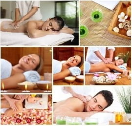 Rugscrub met massage