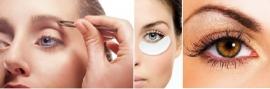 3 Strippenkaart Wenkbrauwen Epileren/Harsen en intensief oogcontour behandeling