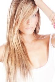 Highlights (lang haar) + intensieve keratine haarmasker