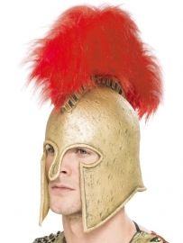 Romeinse helm goudkleurig