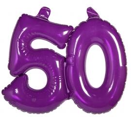 Opblaas cijfer 50 jaar