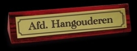 Desk Signs - hangouderen
