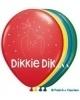 Dikkie Dik ballonnen