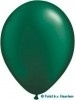 Kwaliteitsballon standaard - donkergroen - 10 stuks