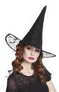 Heksenhoed zwart Kiara