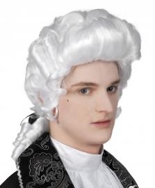 Pruik baroque heer