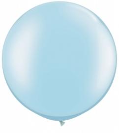 Ballonnen 3ft blauw metallic