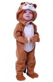 Plushe eekhoorntje knabbel baby