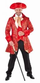 Luxe jas Markies rood