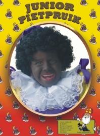 Zwarte piet Kinderpruik