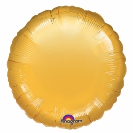 Folieballon goud incl. helium