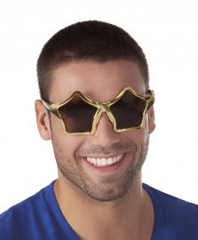 Disco bril stars goud