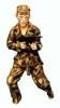 Camouflage kostuum
