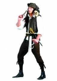 Piraten kostuum 5-delig