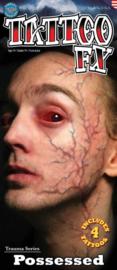 Wond tattoo possessed veins