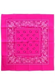 Bandana fluor pink