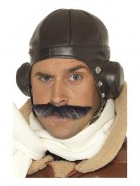 Pilotenpet lederlook