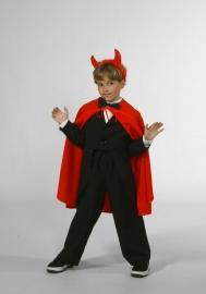 Halloween cape rood