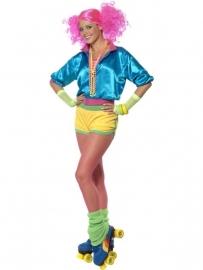 Neon rolschaats kostuum