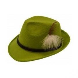 Oktoberfeste hoed Deluxe groen