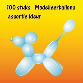 Modelleerballonnen 100 stuks