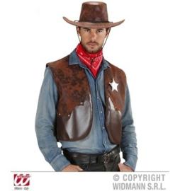 Cowboy sherriff vestje